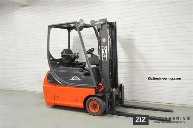 2003 Linde  E 16-02, SS, FREE LIFT ONLY 6413Bts! Forklift truck Front-mounted forklift truck photo
