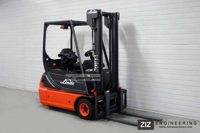 2002 Linde  E 16 C-02, SS, 5160Bts ONLY! Forklift truck Front-mounted forklift truck photo