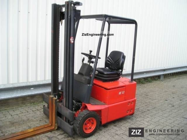 1999 Linde  E 12 - only 595 hours Forklift truck Front-mounted forklift truck photo