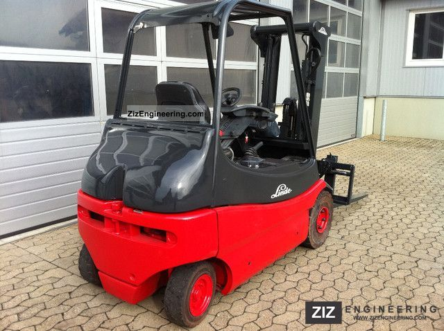 2000 Linde  E 25 Internal No. 1631 Forklift truck Front-mounted forklift truck photo