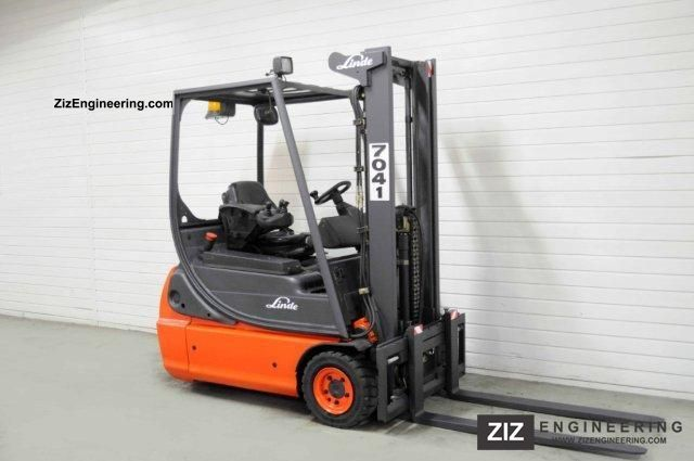 2005 Linde  E 16 C-02, SS, FREE LIFT, 7994Bts! Forklift truck Front-mounted forklift truck photo