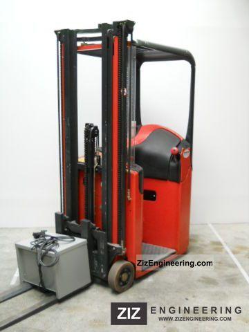 2000 Linde  E10 Triplex Forklift truck Front-mounted forklift truck photo