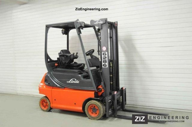 2006 Linde  E 16 P-02, FREE LIFT ONLY 6895Bts! Forklift truck Front-mounted forklift truck photo