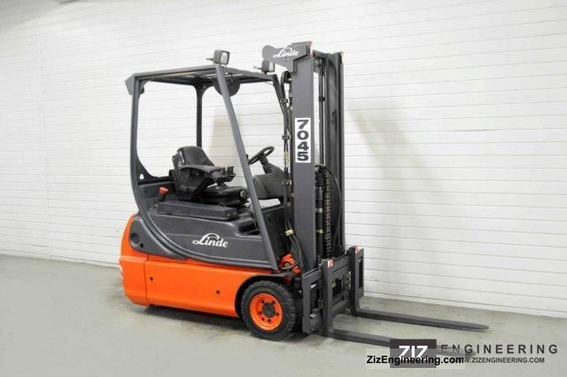 2005 Linde  E 16 C-02, SS, FREE LIFT ONLY 6074Bts! Forklift truck Front-mounted forklift truck photo