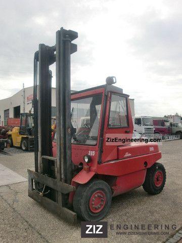 1993 Linde  50 D H \ Forklift truck Front-mounted forklift truck photo