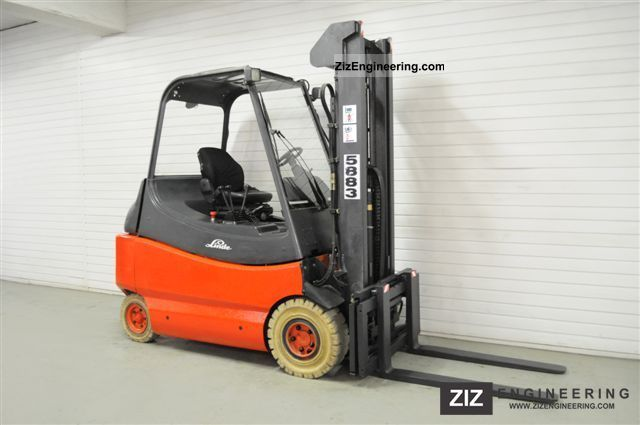 1999 Linde  E 30 N, SS, FREE LIFT, HALF CABIN ONLY 6952Bts! Forklift truck Front-mounted forklift truck photo