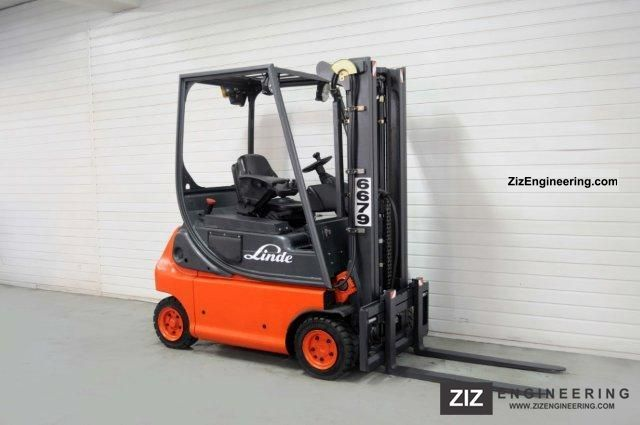 2001 Linde  E 16 P-02, SS, TRIPLEX, 3855Bts ONLY! Forklift truck Front-mounted forklift truck photo