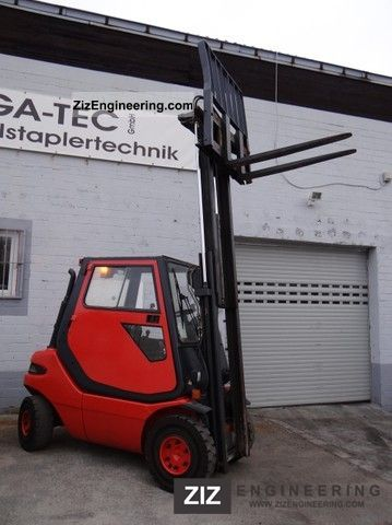 2001 Linde  H25T - Able \u0026 container cabin - Forklift truck Front-mounted forklift truck photo