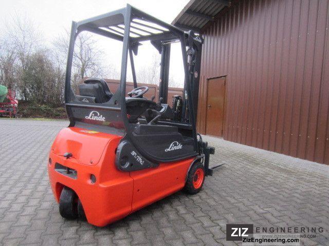 2006 Linde  E 16 C Forklift truck Front-mounted forklift truck photo