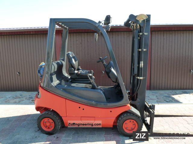 2005 Linde  H16T-03 Forklift truck Front-mounted forklift truck photo