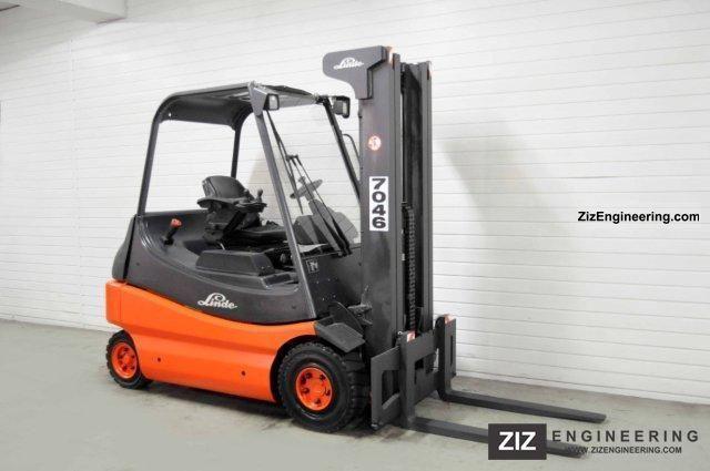 2000 Linde  E 25-02, TRIPLEX, 3972Bts ONLY! Forklift truck Front-mounted forklift truck photo