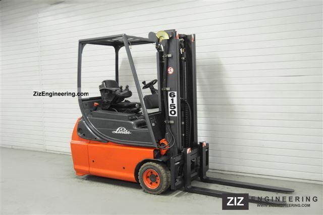 2003 Linde  E 16-02 - Battery, SS, TRIPLEX, 6926Bts ONLY! Forklift truck Front-mounted forklift truck photo
