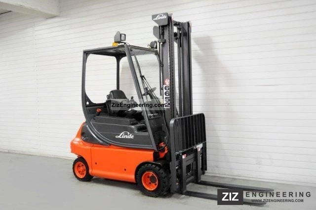 2006 Linde  E 20 P-02, SS, 5178Bts ONLY! Forklift truck Front-mounted forklift truck photo