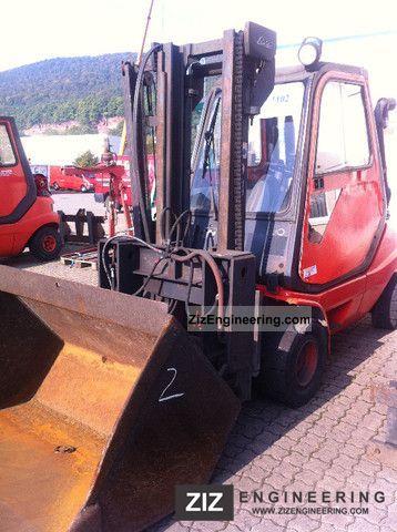 2001 Linde  H30D No. 2 Forklift truck Front-mounted forklift truck photo