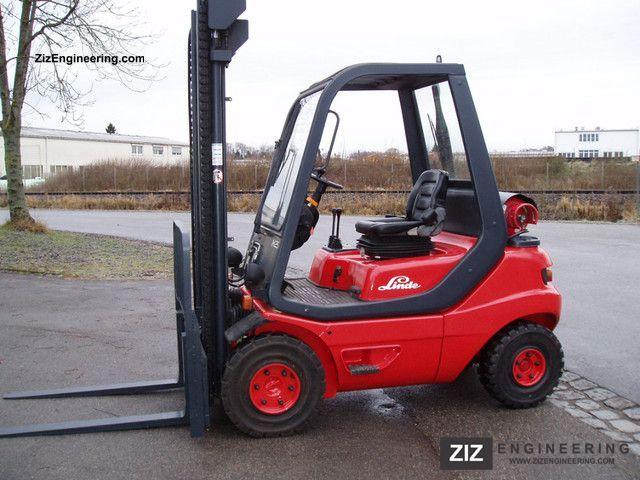 1996 Linde  25 T. H * * UNTIL 3082 HOURS! * EXCELLENT CONDITION * Forklift truck Front-mounted forklift truck photo