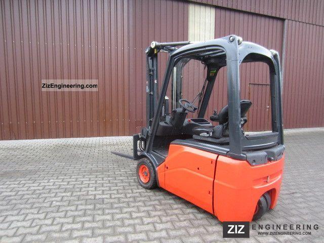 2007 Linde  E 16 Forklift truck Front-mounted forklift truck photo