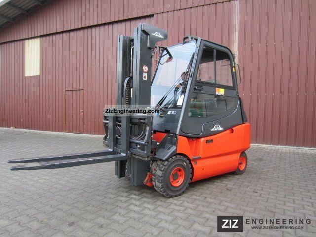 2001 Linde  E 30 Forklift truck Front-mounted forklift truck photo