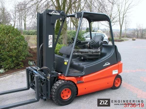 2005 Linde  E 25-02 Forklift truck Front-mounted forklift truck photo