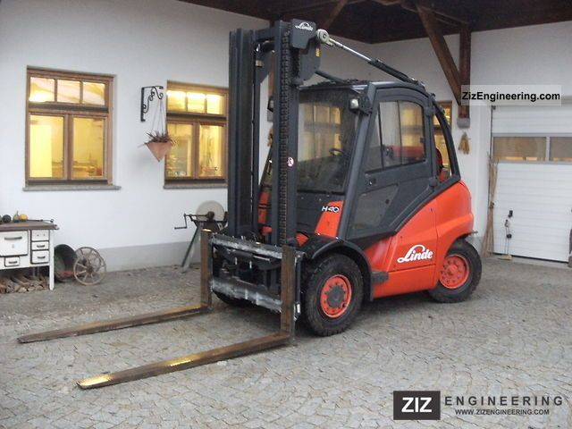 2006 Linde  T H 40-X394 propellant Forklift truck Front-mounted forklift truck photo