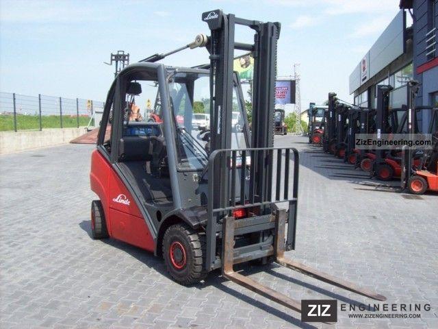 2007 Linde  H25T/392 Forklift truck Front-mounted forklift truck photo