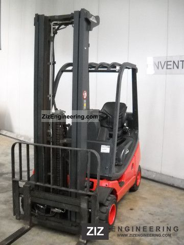 2007 Linde  H20D-03/350 Forklift truck Front-mounted forklift truck photo