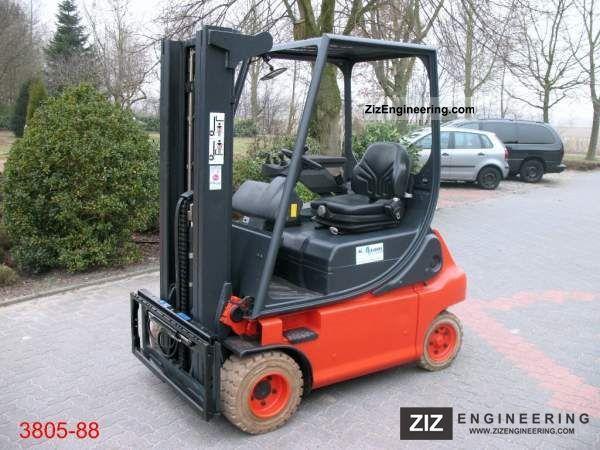 2006 Linde  E 20 P 02 Forklift truck Front-mounted forklift truck photo