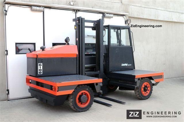 Linde S 30 Cabin Only 3973bts 2002 Side Loading Forklift