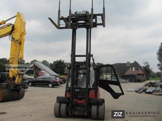 2011 Linde  H40 Forklift truck Reach forklift truck photo
