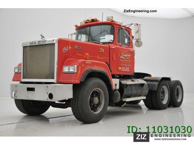 Mack Superliner Rw 753 1989 Standard Tractor Trailer Unit