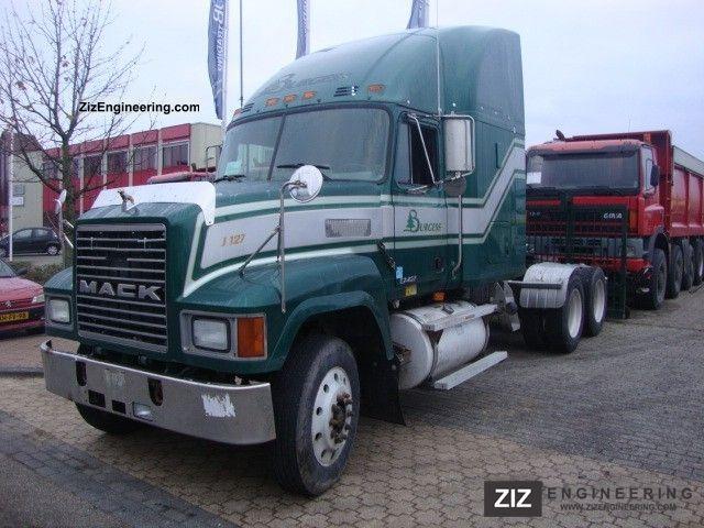 Mack Ch 613 E7 427 1998 Standard Tractor Trailer Unit