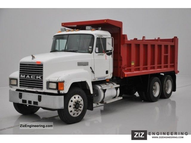 1998 Mack  CH613 - 6X4 - NEW TIPPER Truck over 7.5t Tipper photo