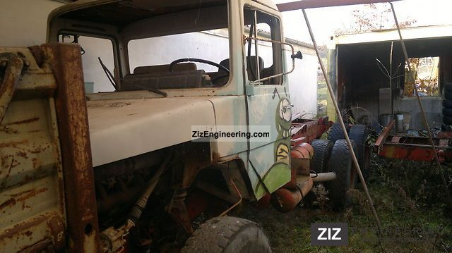 1973 Magirus Deutz  232D26 AK whole or part F8L413 Truck over 7.5t Chassis photo