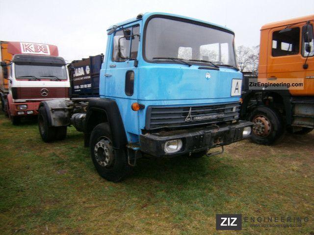 Magirus Deutz 170 D17 1982 Standard Tractor Trailer Unit