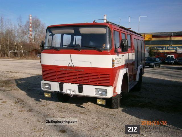 1973 Magirus Deutz  135 D12F Truck over 7.5t Other trucks over 7,5t photo