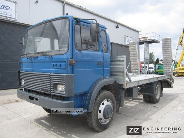 1985 Magirus Deutz  110-17 Truck over 7.5t Car carrier photo
