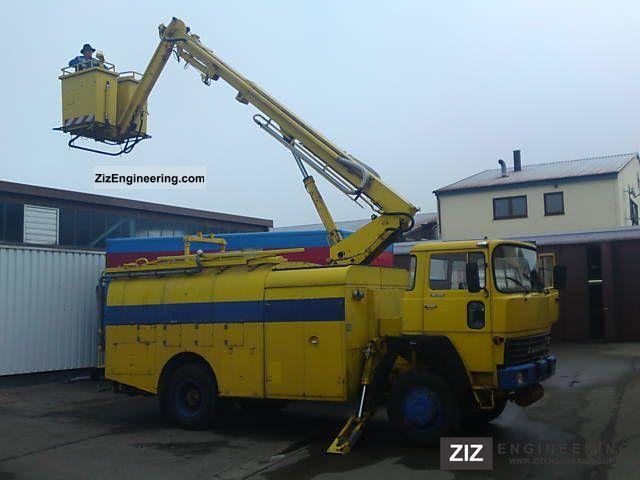 1967 Magirus Deutz  Hubstaiger / tank top condition Truck over 7.5t Hydraulic work platform photo