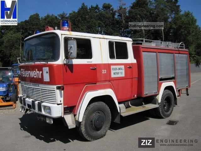 1971 Magirus Deutz  170 D11 4x4 fire truck, trailer hitch Truck over 7.5t Other trucks over 7,5t photo
