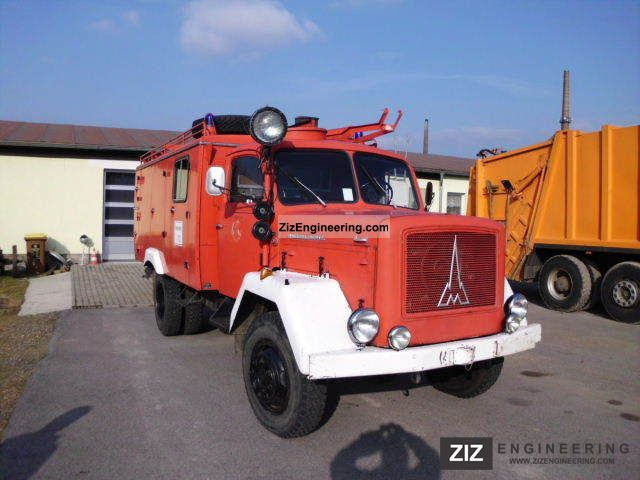 1959 Magirus Deutz  F6L with H-614 fire code Truck over 7.5t Other trucks over 7,5t photo