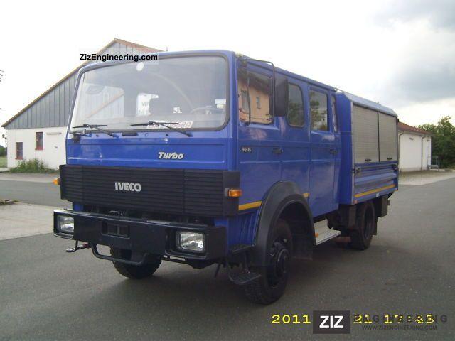 magirus deutz iveco 90 16 turbo 4x4 aw 1986 box truck. Black Bedroom Furniture Sets. Home Design Ideas
