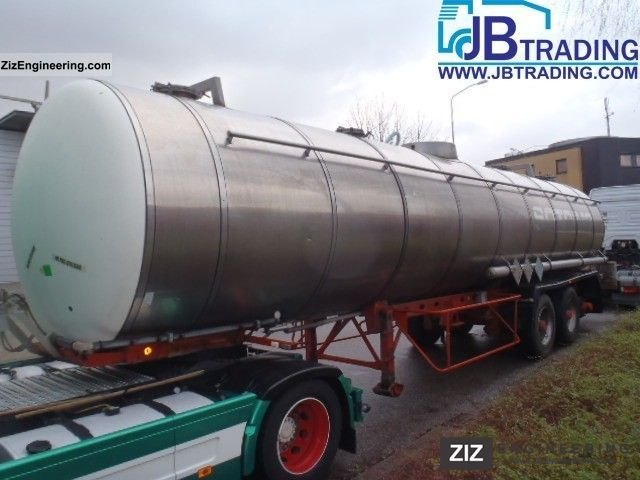 1990 Magyar  chemistry Semi-trailer Tank body photo