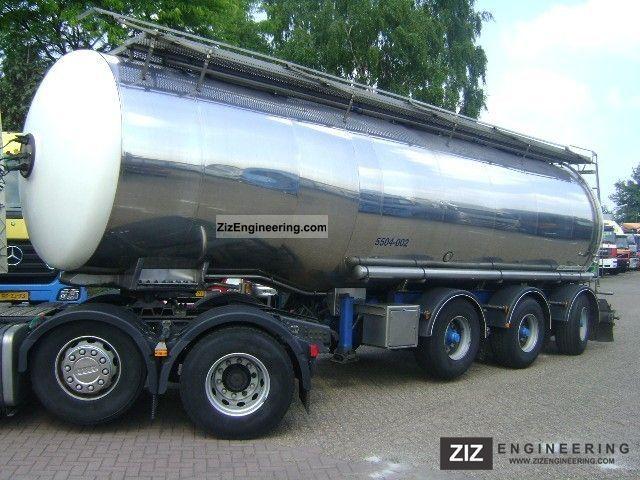 2004 Magyar  34 000 liters BPW naloopas SRP3MEB4 Semi-trailer Tank body photo