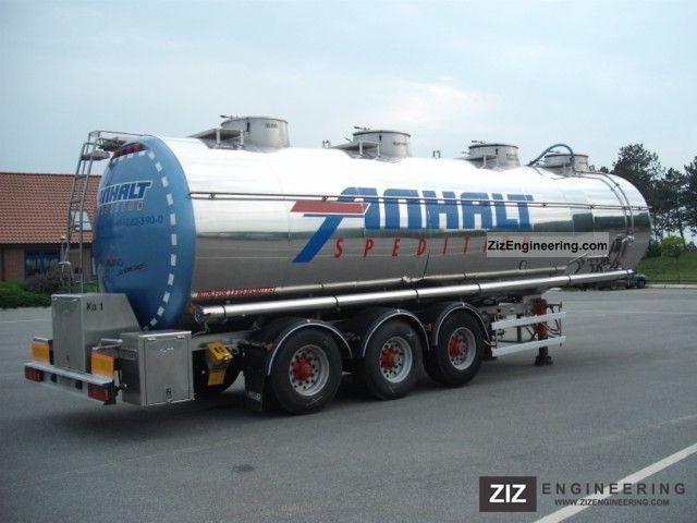2003 Magyar  One-chamber-tank, 38,000 l, food Semi-trailer Food tank photo
