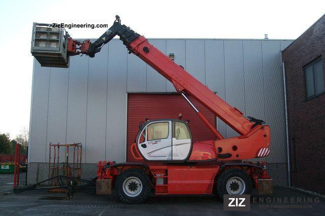 2008 Manitou  MRT 3050 Privilege Complete Forklift truck Telescopic photo