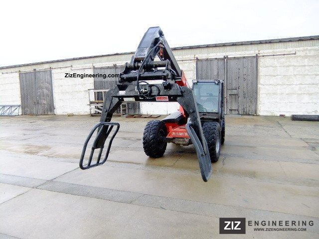 2007 Manitou  Ball clamp as new! Forklift truck Telescopic photo