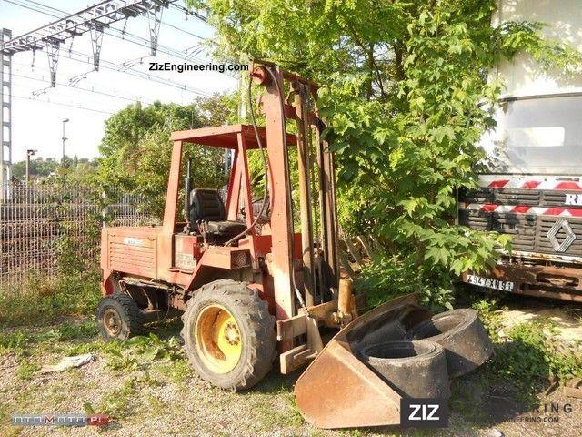 1990 Manitou  wózek manitou 2.5 t Forklift truck Rough-terrain forklift truck photo