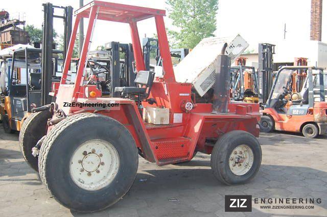 2011 Manitou  MC 50 Forklift truck Rough-terrain forklift truck photo