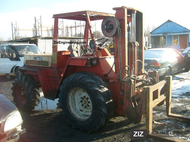 1988 Manitou  mh20 Forklift truck Rough-terrain forklift truck photo