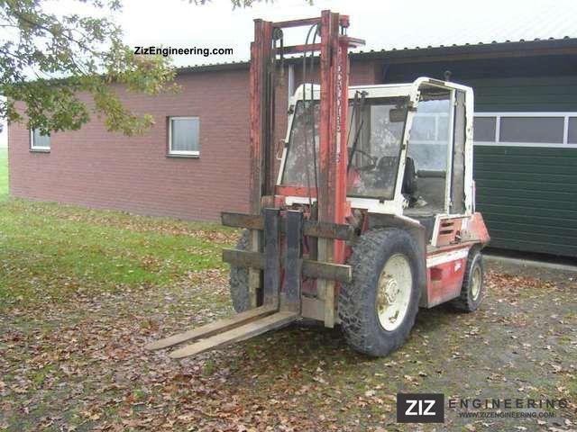 1990 Manitou  MCE 25 H Forklift truck Rough-terrain forklift truck photo