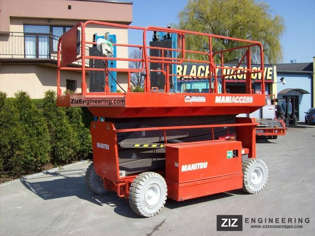 2001 Manitou  110 ELX Forklift truck Other forklift trucks photo