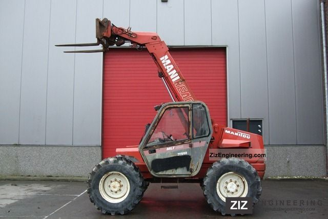 1994 Manitou  MLT 626T Forklift truck Telescopic photo